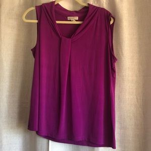 Dana Buckman purple Dress shirt